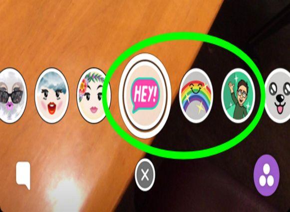 Stap 4: Selecteer een filter om die toe te voegen aan je beeld.