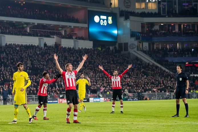 PSV kon het tegen FK Rostov niet bolwerken, eerder dit seizoen.