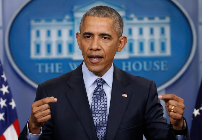 Barack Obama in zijn tijd als president van de Verenigde Staten in het Witte Huis.