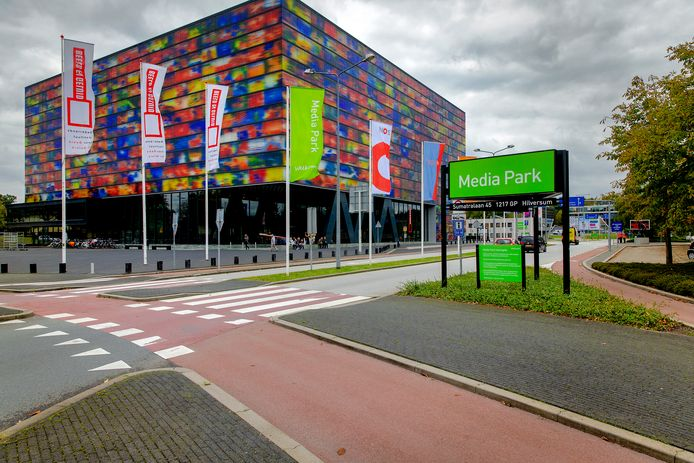 Het Instituut voor Beeld en Geluid in Hilversum.