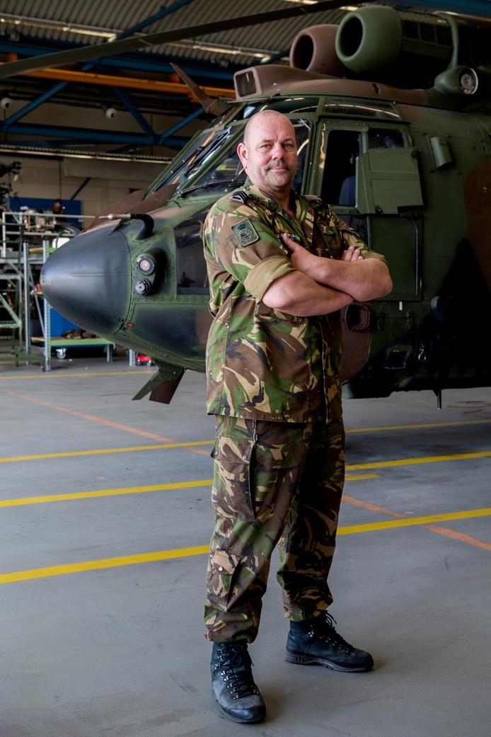 Ric Jansen is het leger als zijn tweede thuis gaan zien.