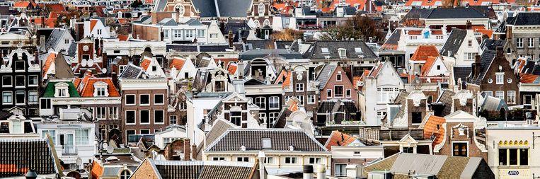 Het gemiddelde welzijn van Amsterdammers is sinds 2004 vijf procent toegenomen. Beeld ANP