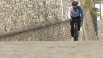 Man fietst 85 (!) keer na mekaar naar top van de Citadel van Namen