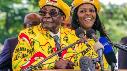 Zimbabwaanse politie voert onderzoek naar Grace Mugabe in zaak van ivoorsmokkel