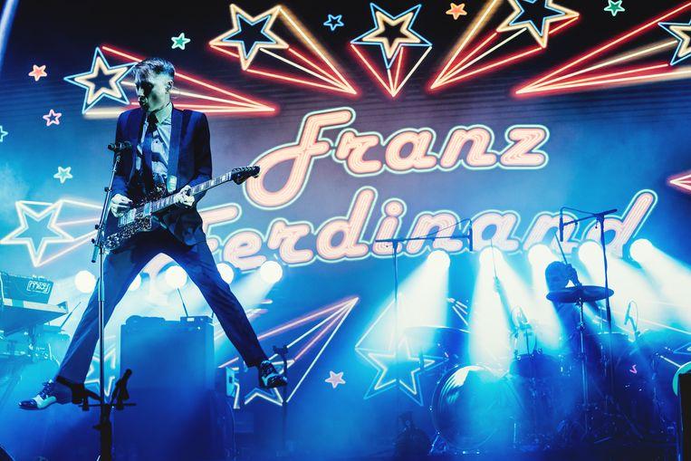 Franz Ferdinand op Pukkelpop 2019 Beeld Stefaan Temmerman