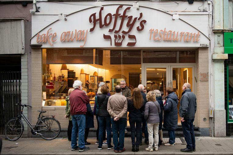 Antwerps restaurant Hoffy's in de Lange Kievitstraat 52.