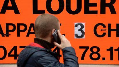 Huurprijzen in Brussel opnieuw omhoog