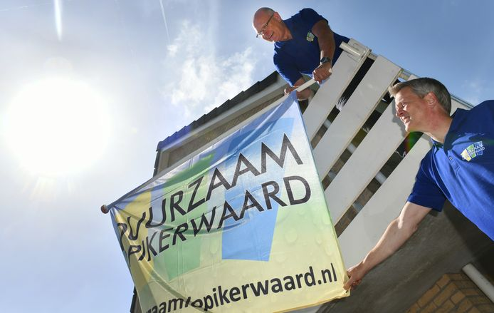 Dick Nederend en Paul Planken van Duurzaam Lopikerwaard.