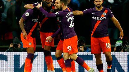 Invaller De Bruyne viert met Man. City ook op erbarmelijke grasmat van Wembley in kraker tegen Tottenham