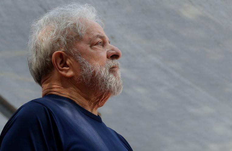 De Braziliaanse oud-president Lula. Beeld AP