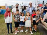Syrische gezinnen vieren 75 jaar vrijheid mee