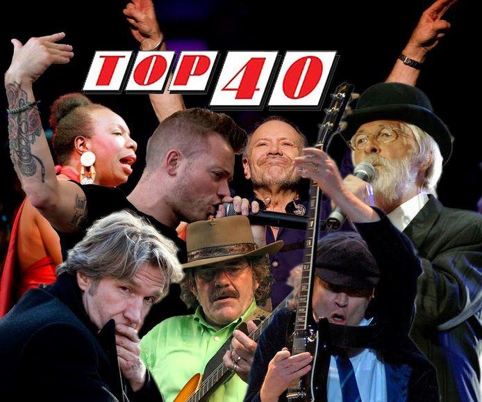 Postzegels 50 Jaar Top 40