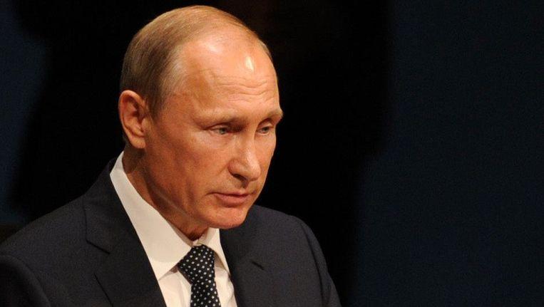 Russisch president Vladimir Poetin.