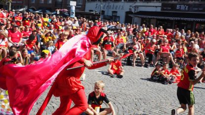 Cardijnplein bouwt Duivels feestje mét Engels kantje
