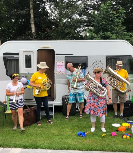 Repeteren tijdens corona werpt vruchten af: fanfare Excelsior Terhole geeft creatief online concert