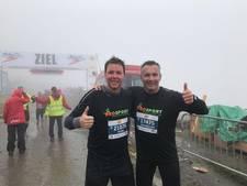 Doetinchemse vrienden lopen marathon door de Alpen uit