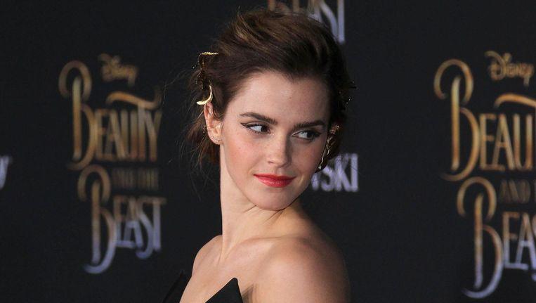 Emma Watson speelt Belle in Beauty and the Beast. Beeld photo_news