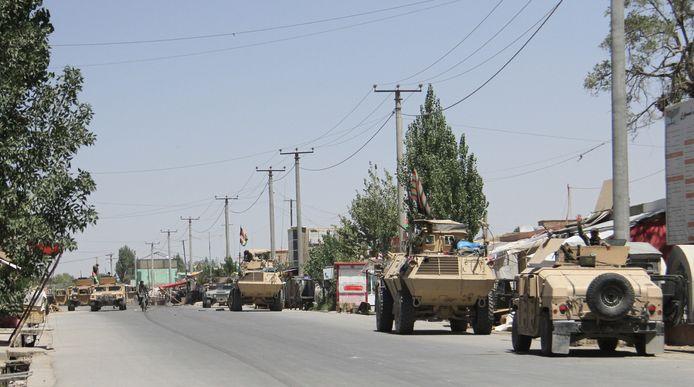 De Taliban staan niet meer garant voor de veiligheid van Rode Kruis-medewerkers.