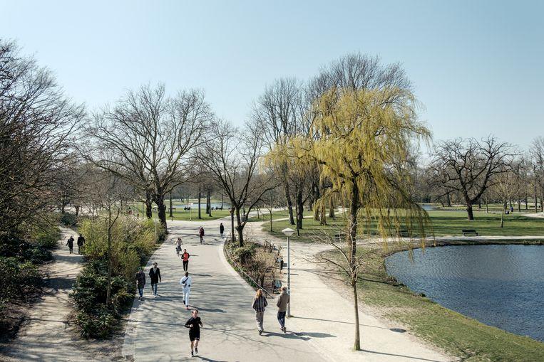 Het Vondelpark. Beeld Jakob Van Vliet
