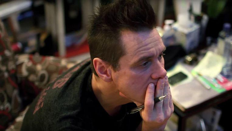 Still uit de mini documentaire Jim Carrey: I Needed Color Beeld