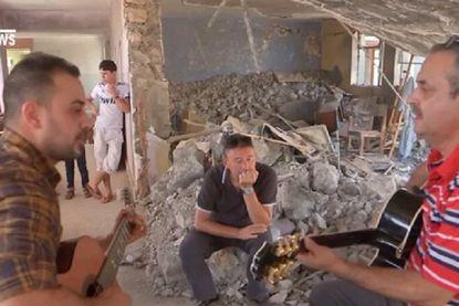 Na het kippenvelmoment 'Imagine' in Mosoel: Belgisch leger brengt muziekinstrumenten naar Irak