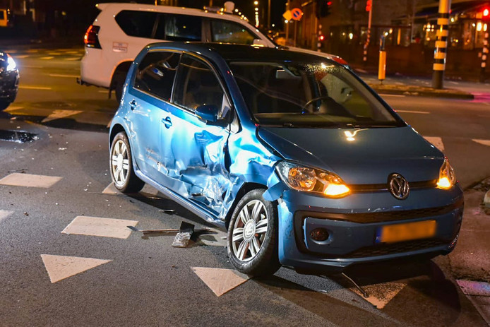 Ongeluk op Ringbaan-West in Tilburg