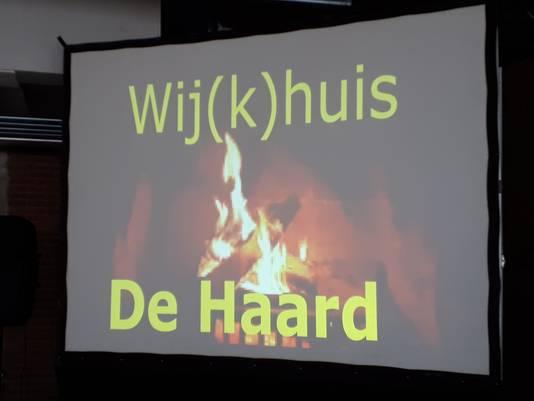 De nieuwe naam van het wijkcentrum van de Ruwaard.