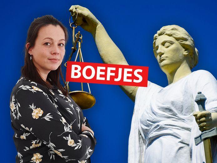 Verslaggever Serena Hofman doet elke week verslag van een doodnormale rechtszaak in de rubriek 'Boefjes'.