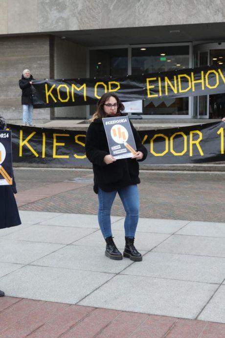 Lisa-Mae strijdt voor een hoger minimumloon: 'Ik werkte heel erg veel, maar verdiende ramweinig'