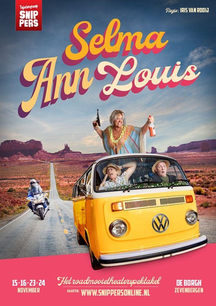 De flyer van voorstelling Selma Ann Louis in Zevenbergen.