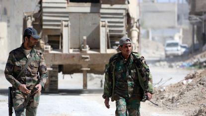 Eerste rebellen verlaten Oost-Ghouta
