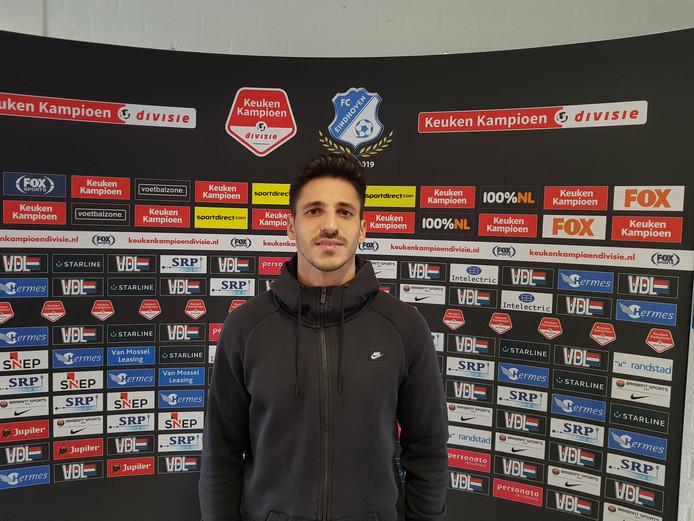 Diogo Coelho (27) traint mee bij FC Eindhoven