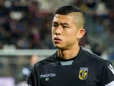 Zhang terug bij Vitesse; Tighadouini hinkend van het veld