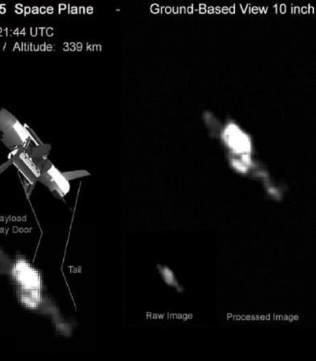 Nederlander kiekt geheimzinnige mini-spaceshuttle VS in de ruimte