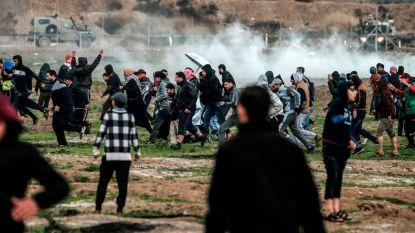 Duizenden Palestijnen protesteren aan grens tussen Israël en Gaza: één dode, zes gewonden