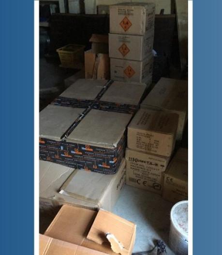 Eigenaar van 400 kilo illegaal en zwaar vuurwerk in Corle opgepakt