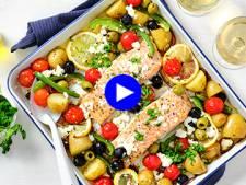 Lundi paresseux? Comptez cinq minutes de travail maximum pour cette recette grecque super saine au saumon