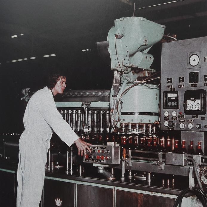Piet Daniels bij Bavaria in 1975