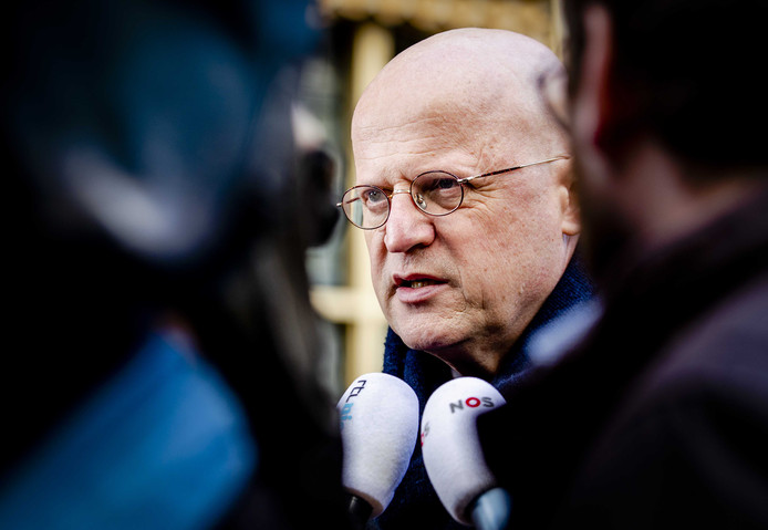 Minister van Justitie en Veiligheid Grapperhaus.