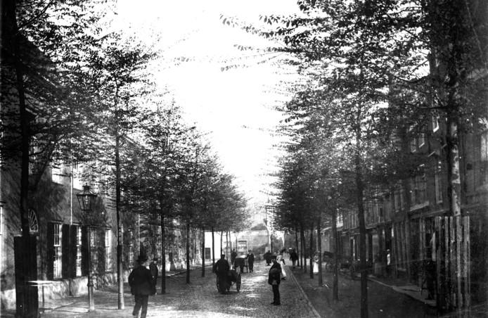 Toen het Leprooshuis aan de Vriesestraat (links op de foto van ca. 1900) omstreeks 1725 werd gebouwd was lepra al bijna uitgebannen.