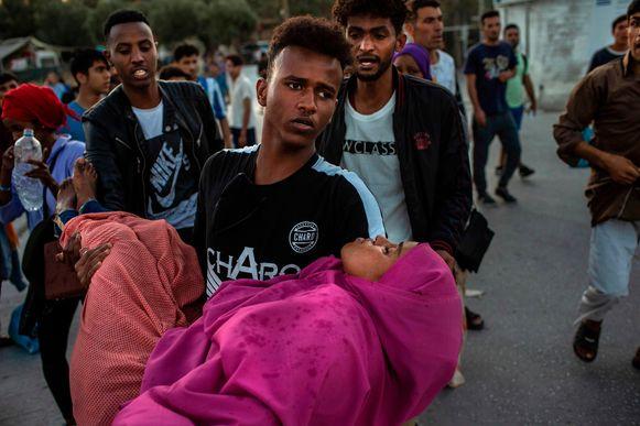 Bij de rellen vielen er ook gewonden.