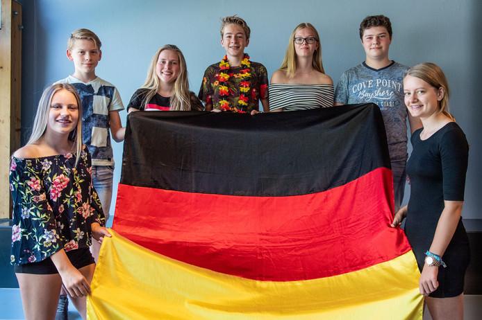 Zeven vmbo- en havo/vwo-tweedeklassers van het Twents Carmel College in Denekamp hebben een Goethe-examen afgelegd.