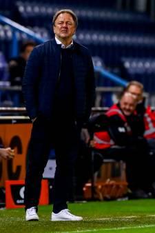 De Graafschap-trainer Snoei recht rug na kritiek: 'Ik blijf mezelf'
