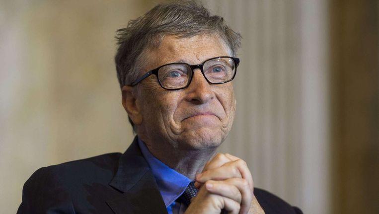 Bill Gates Beeld afp