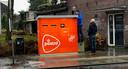 Een Brief- en Pakketautomaat van PostNL in Tilburg. Ook Eindhoven krijgt er voorlopig twee: aan de Hoogstraat en de Heezerweg.