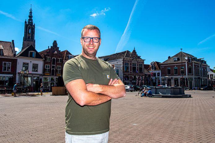 """Camiel de Kruijf op de Hof: ,,Nu mijn branche stilligt kan ik mijn ervaring in mijn stad inzetten. En de Hof is ook een soort festivalterrein."""""""