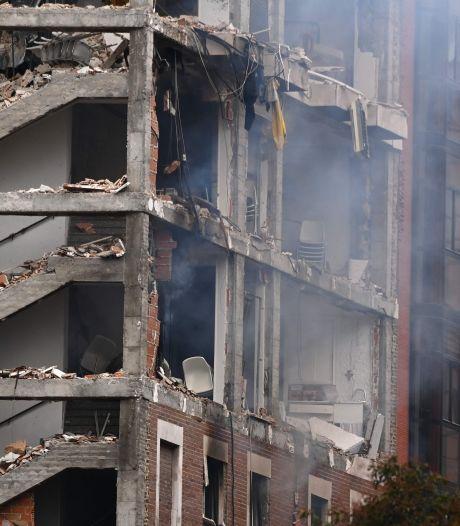Enorme gasexplosie verwoest pand in centrum van Madrid: minstens drie doden