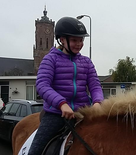 Droomdag te paard laat Mirte uit Elst een zware tijd even vergeten