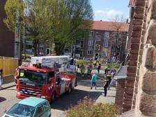 Partner van gevallen of gesprongen vrouw in Deventer zit nog vast