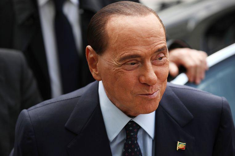 Silvio Berlusconi, mediamagnaat en oud-premier van Italië.